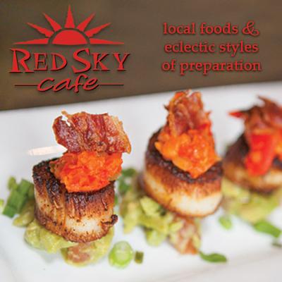 Red Sky Cafe Duck Nc Dinner Menu