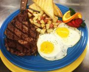 Steak & Eggs - Sunset Grille and Raw Bar