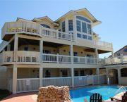 6 Master Bedrooms, Oceanside Regal Estate! - Carolina Designs
