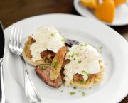 Eggs Benedict - Lifesaving Station Restaurant
