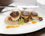 Seared Sea Scallops - Lifesaving Station Restaurant