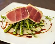 Grilled Local Tuna - Lifesaving Station Restaurant