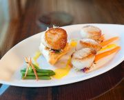 Seared Scallops -  The Paper Canoe Outer Banks Restaurant