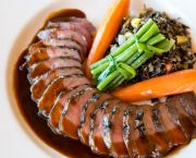Seared Sliced Duck Breast -  The Paper Canoe Outer Banks Restaurant