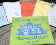 Pocket Logo Tee - Dockside 'N Duck Seafood Market