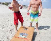 Game of Cornhole - Ocean Atlantic Rentals