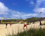 A Game Of Volleyball - Ocean Atlantic Rentals
