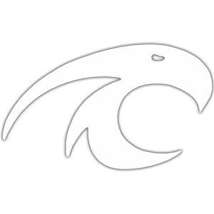 Kitty Hawk Surf Co., Kitty Hawk Surf Co White Logo Sticker