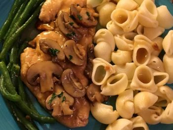 ClamBake OBX & Outer Banks Grocery Stockers, Chicken Marsala and Mushrooms
