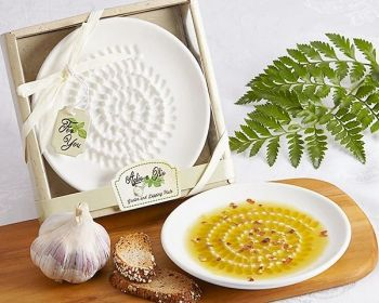Outer Banks Olive Oil Co., Aglio e Olio Grater & Dipping Plate