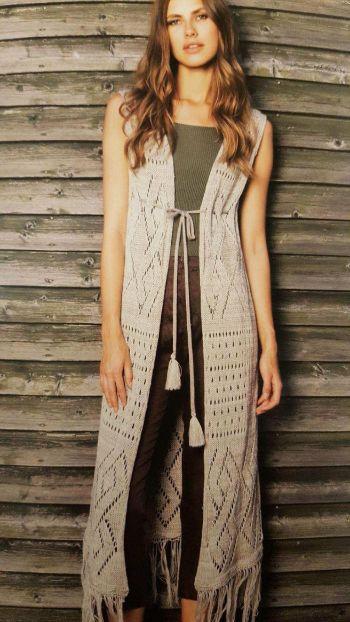 Lady Victorian Duck NC Fashion, Crocheted Kimono