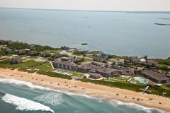 Sanderling Resort, aerial view