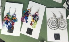 Aluminum Earrings by Kazu