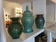 Uwharrie Crystalline pottery from Seagrove NC