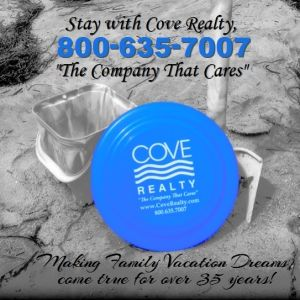 """Stay with Cove Realty """"The Company the Cares"""""""