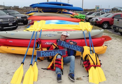 Kitty Hawk Surf Co., Watersport Rental Gear