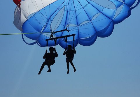 Lighthouse Parasail, See Corolla from our 'chutes!