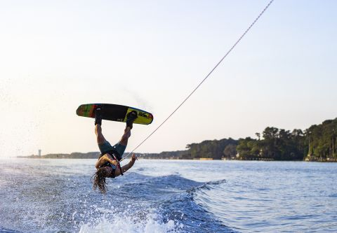 Nor'Banks Sailing Center, Wakeboarding, Waterskiing & Tubing Trips
