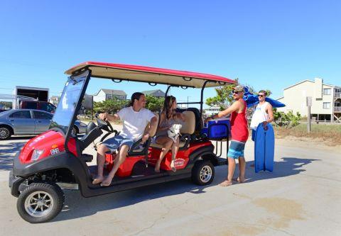Ocean Atlantic Rentals, Rent LSV Golf Carts and Cruise Around Town