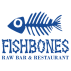 Logo for Fishbones Raw Bar and Restaurant
