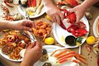 ClamBake OBX & Outer Banks Grocery Stockers, Free Clambake for 8 Adults