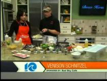Red Sky Cafe - The Hampton Roads Show - Rockfish Kerri and Venison Schnitzel